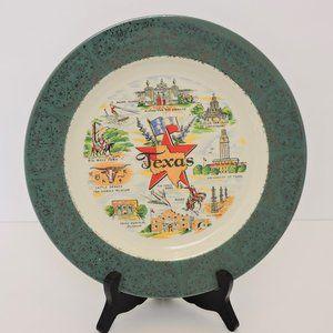 Vintage US State plate Texas EUC